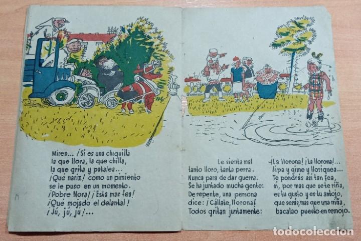Libros antiguos: INEDITO CUENTO, LA LLORONA. NARRACION INFANTIL. ESTRELLA - Foto 6 - 195489042