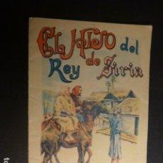 Libros antiguos: EL HIJO DEL REY DE SIRIA CALLEJA CUENTO ILUSTRADO. Lote 182861135
