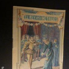 Libros antiguos: EL REY DE LOS METALES CALLEJA CUENTO ILUSTRADO ILUSTRACION JAEN. Lote 182861207