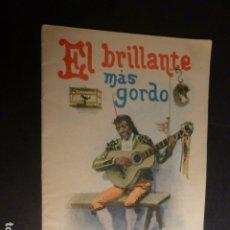 Libros antiguos: EL BRILLANTE MAS GORDO CALLEJA CUENTO ILUSTRADO. Lote 182861443
