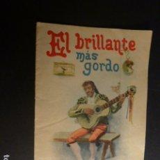 Libros antiguos: EL BRILLANTE MÁS GORDO CALLEJA CUENTO ILUSTRADO ILUSTRACION SEGOVIA. Lote 182861922