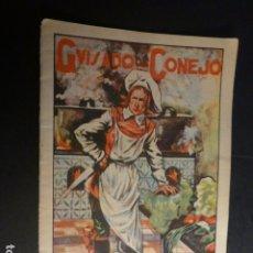 Libros antiguos: GUISADO DE CONEJO CALLEJA CUENTO ILUSTRADO ILUSTRACION PONTEVEDRA. Lote 182862043