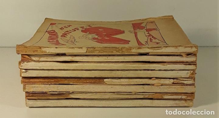 Libros antiguos: CALENDARI DEN PATUFET. 1930/1936. 8 EJEMPLARES. BARCELONA. - Foto 2 - 182965067