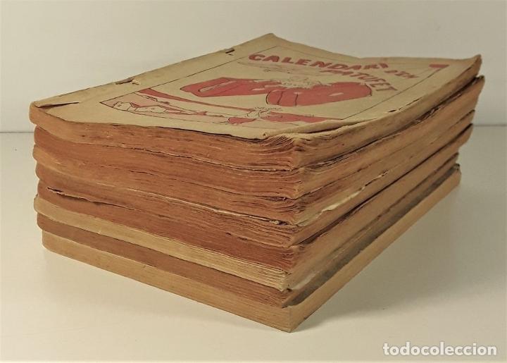 Libros antiguos: CALENDARI DEN PATUFET. 1930/1936. 8 EJEMPLARES. BARCELONA. - Foto 3 - 182965067