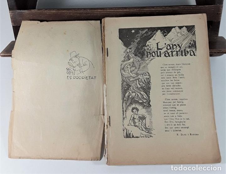 Libros antiguos: CALENDARI DEN PATUFET. 1930/1936. 8 EJEMPLARES. BARCELONA. - Foto 5 - 182965067