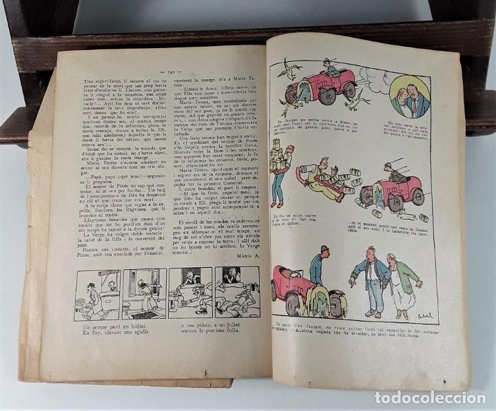 Libros antiguos: CALENDARI DEN PATUFET. 1930/1936. 8 EJEMPLARES. BARCELONA. - Foto 6 - 182965067