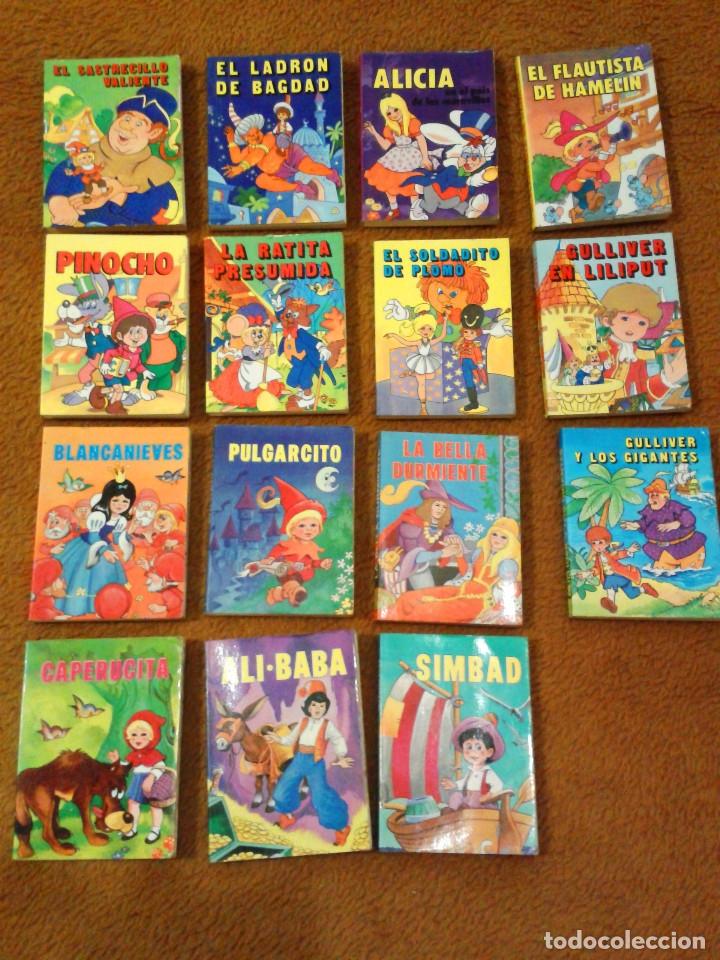 LOTE DE 15 CUENTOS COLECCIÓN MINILIBROS EDITORIAL SUSAETA COLECCIONES S A. (Libros Antiguos, Raros y Curiosos - Literatura Infantil y Juvenil - Cuentos)