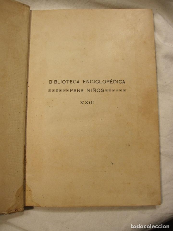 Libros antiguos: JOSE MUÑOZ ESCAMEZ. CUENTOS INFANTILES. CALLEJA, MADRID, HACIA 1900 - Foto 2 - 183459383