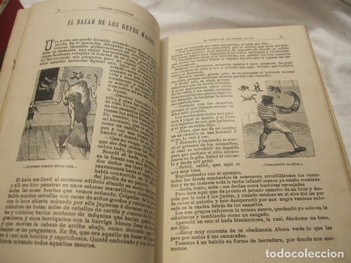 Libros antiguos: JOSE MUÑOZ ESCAMEZ. CUENTOS INFANTILES. CALLEJA, MADRID, HACIA 1900 - Foto 4 - 183459383