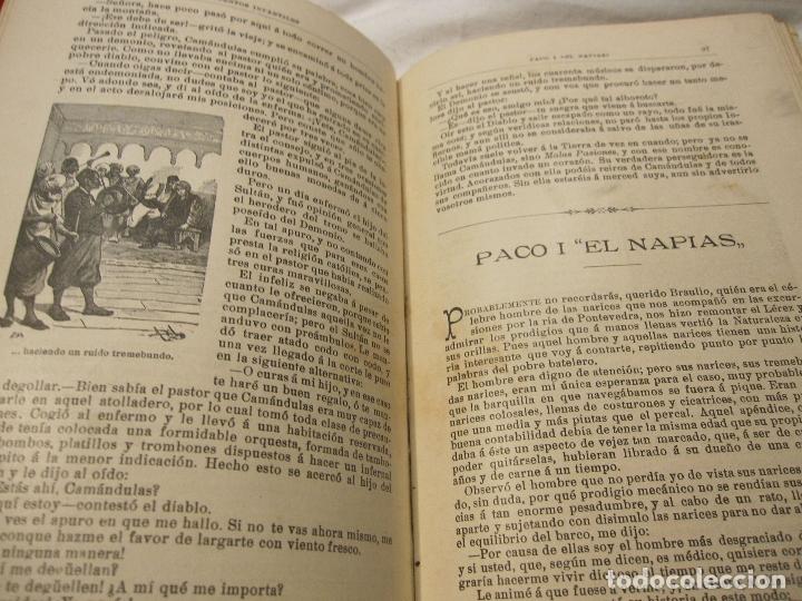 Libros antiguos: JOSE MUÑOZ ESCAMEZ. CUENTOS INFANTILES. CALLEJA, MADRID, HACIA 1900 - Foto 6 - 183459383