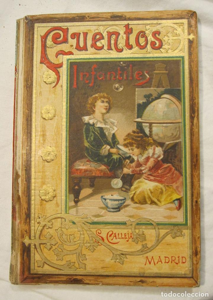 JOSE MUÑOZ ESCAMEZ. CUENTOS INFANTILES. CALLEJA, MADRID, HACIA 1900 (Libros Antiguos, Raros y Curiosos - Literatura Infantil y Juvenil - Cuentos)