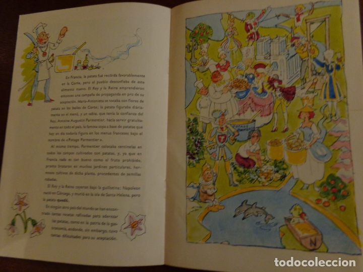 Libros antiguos: EL CUENTO DEL SOLANUM TUBEROSUM CUENTO DE LA PATATA, COCINA, PUBLICADO POR KARTOFFELEKSPORTUDVALGET - Foto 3 - 183709130