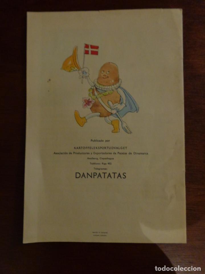 Libros antiguos: EL CUENTO DEL SOLANUM TUBEROSUM CUENTO DE LA PATATA, COCINA, PUBLICADO POR KARTOFFELEKSPORTUDVALGET - Foto 5 - 183709130