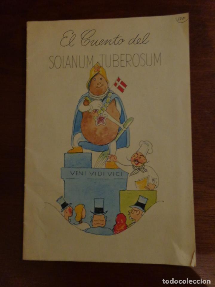 EL CUENTO DEL SOLANUM TUBEROSUM CUENTO DE LA PATATA, COCINA, PUBLICADO POR KARTOFFELEKSPORTUDVALGET (Libros Antiguos, Raros y Curiosos - Literatura Infantil y Juvenil - Cuentos)