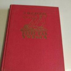 Libros antiguos: PETER PAN Y WENDY DE J.M. BARRIE EDITORIAL JUVENTUD 1ª EDICIÓN DE LUJO. Lote 184037613