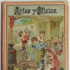 Libros antiguos: ARTES Y OFICIOS. CUENTOS. FINALES DEL S.XIX. ILUSTRACIONES A COLOR.. Lote 184095791