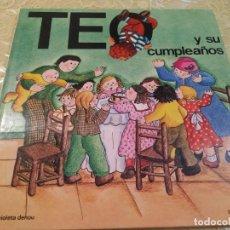Libros antiguos: TEO Y SU CUMPLEAÑOS VIOLETA DENOU Nº 1 COLECCIÓN EL PAÍS 2008 TIMUNMASTEO Y SU CUMPLEAÑOS VIOLETA DE. Lote 184206628