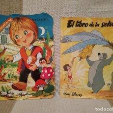 Livros antigos: LOTE DE 13 CUENTOS INFANTILES + 1 MINI NOVELA DE REGALO (MAYNE REID, EL JINETE SIN CABEZA) EX. Lote 127800891