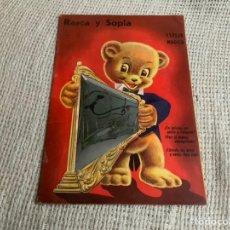 Libros antiguos: RASCA Y SOPLA - COLECCIÓN ESPEJO MAGICO - 1958, RETIRADO. Lote 3251017