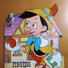 Libros antiguos: CUENTO TROQUELADO PINOCHO WALT DISNEY E. TORAY Nº 3 - 1980. Lote 184392590