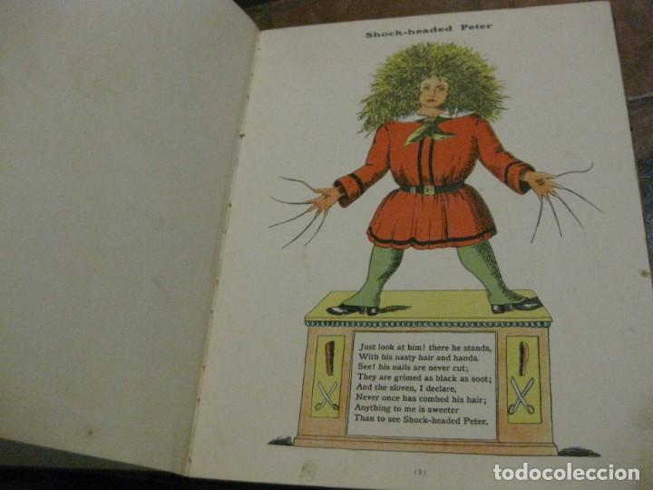 Libros antiguos: cuento tradicional struwwelpeter . merry stories funny pictures . ed blackie london. ingles - Foto 7 - 184399135