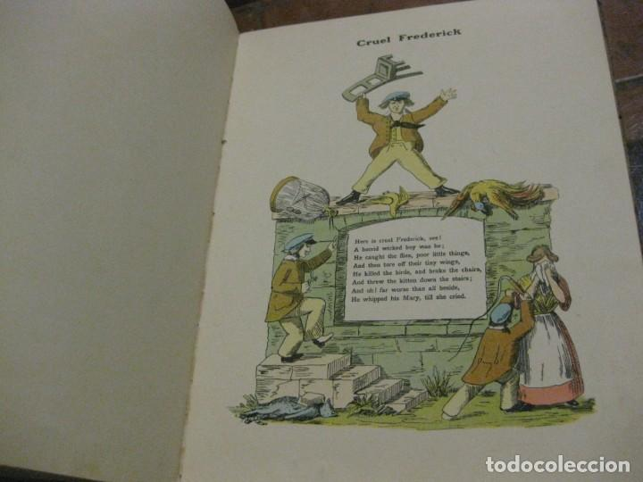 Libros antiguos: cuento tradicional struwwelpeter . merry stories funny pictures . ed blackie london. ingles - Foto 8 - 184399135