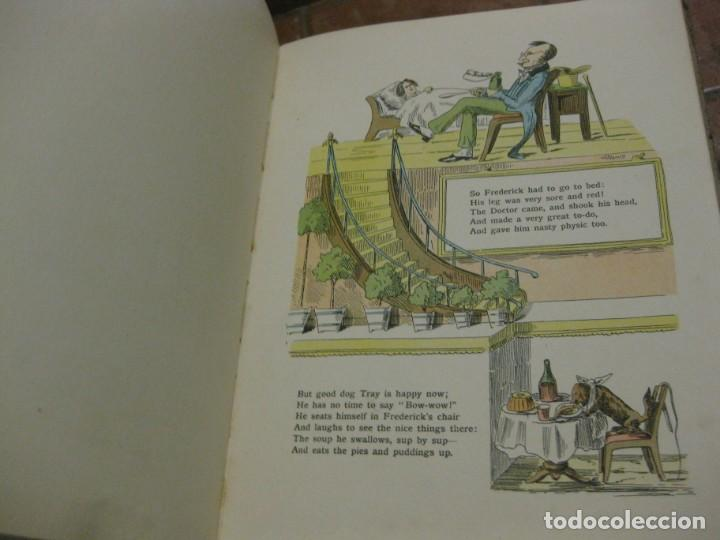 Libros antiguos: cuento tradicional struwwelpeter . merry stories funny pictures . ed blackie london. ingles - Foto 10 - 184399135