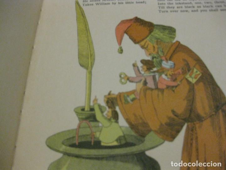 Libros antiguos: cuento tradicional struwwelpeter . merry stories funny pictures . ed blackie london. ingles - Foto 14 - 184399135