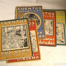 Libros antiguos: CUENTOS INFANTILES SERIE OSVERNIA, 0,70 PTS. SAN SEBASTIÁN Nº 1, 2, 3, 5 Y 7. Lote 184412316