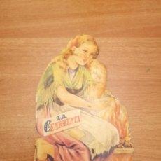 Libros antiguos: CUENTO TROQUELADO -LA CENICIENTA - . Lote 184566353