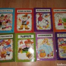 Libros antiguos: LOTE DE 8 CUENTOS POP-UP. Lote 185263361