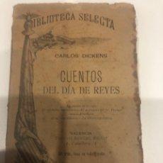 Libros antiguos: CUENTOS DEL DÍA DE REYES. Lote 186079110