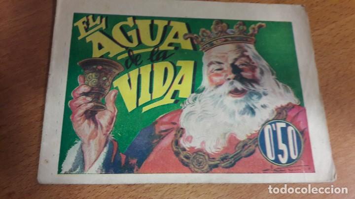 24 EL AGUA DE LA VIDA, HISTORIETAS GRÁFICAS PILARÍN '40 (Libros Antiguos, Raros y Curiosos - Literatura Infantil y Juvenil - Cuentos)