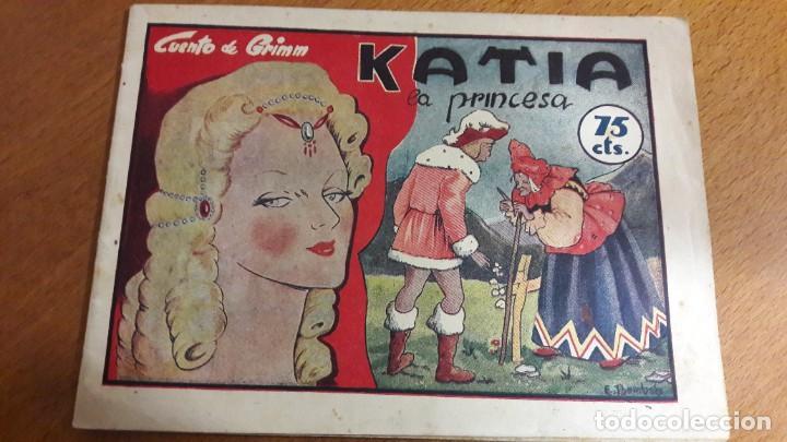 KATIA LA PRINCESA, N 21 DE HISTORIETAS GRÁFICAS PILARÍN '40 (Libros Antiguos, Raros y Curiosos - Literatura Infantil y Juvenil - Cuentos)