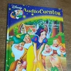 Libros antiguos: LIBRO BLANCANIEVES Y LOS SIETE ENANITOS (NO INCLUYE CD) PLANETA DEAGOSTINI AUDIOCUENTOS DISNEY 2006. Lote 186277066