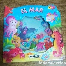 Libros antiguos: EL MAR CARMEN BUSQUETS EDICIONES SUSAETA MINI LIBRO INFANTIL TAPAS DURAS. Lote 186296342