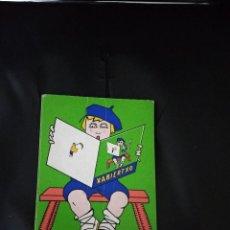 Libri antichi: XABIERTXO / LOPEZ MENDIZABAL'DAR IXAKA / 1970. Lote 186362966