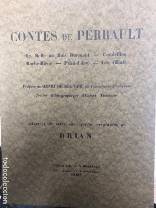 CUENTOS DE PERRAULT (Libros Antiguos, Raros y Curiosos - Literatura Infantil y Juvenil - Cuentos)