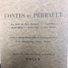 Libros antiguos: CUENTOS DE PERRAULT. Lote 186456773