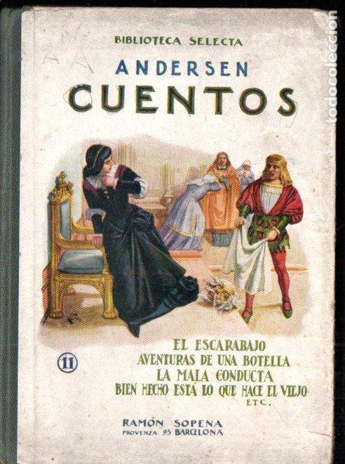 ANDERSEN : EL ESCARABAJO Y OTROS CUENTOS (SELECTA SOPENA, 1918) (Libros Antiguos, Raros y Curiosos - Literatura Infantil y Juvenil - Cuentos)