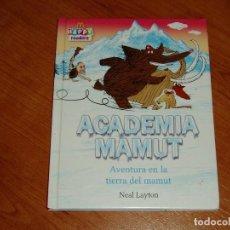 Libros antiguos: LIBRO ACADEMIA MAMUT MC DONALD. Lote 187213852