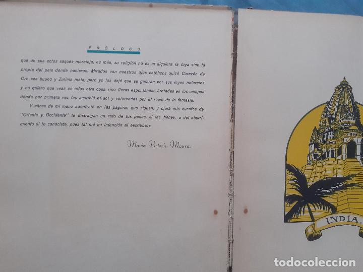 Libros antiguos: Cuentos de oriente y occidente - Tomo primero - Ed. talleres offset, años 30 - Foto 6 - 187516757