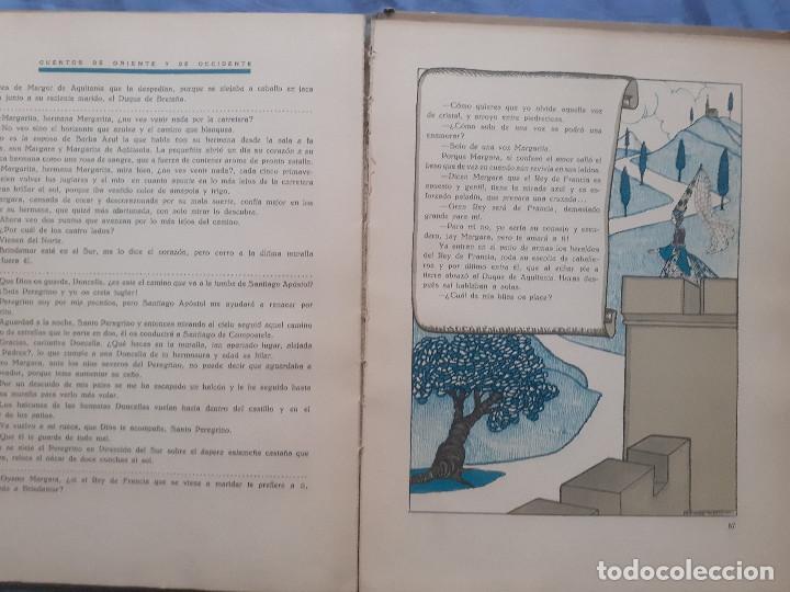 Libros antiguos: Cuentos de oriente y occidente - Tomo primero - Ed. talleres offset, años 30 - Foto 11 - 187516757