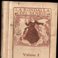 Libros antiguos: LA RONDALLA DEL DIJOUS - 16 CONTES CATALANS (L'AVENÇ, 1924). Lote 187529782