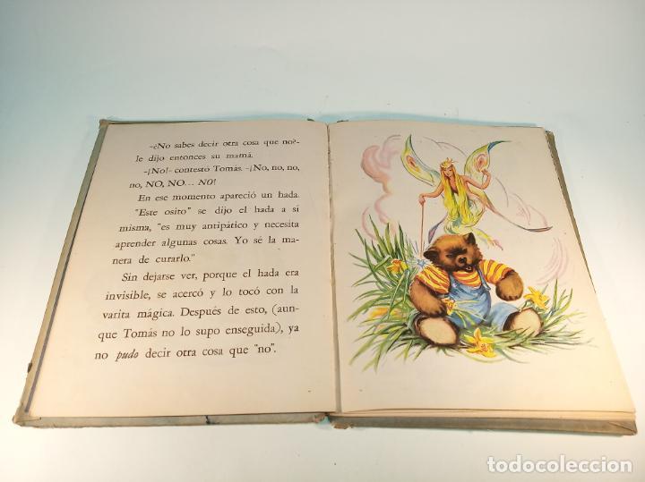 Libros antiguos: El osito que siempre decía no. Colección maravilla. Edit. Sigmar. Buenos Aires. Cuento poco visto. - Foto 5 - 188781233