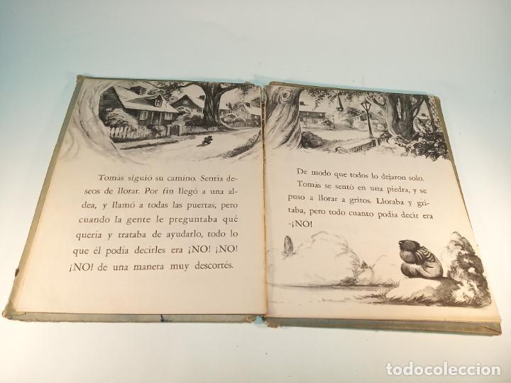 Libros antiguos: El osito que siempre decía no. Colección maravilla. Edit. Sigmar. Buenos Aires. Cuento poco visto. - Foto 6 - 188781233