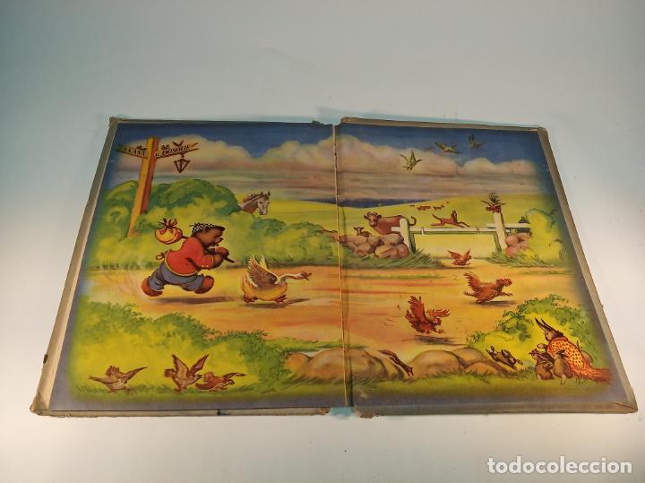 Libros antiguos: El osito que siempre decía no. Colección maravilla. Edit. Sigmar. Buenos Aires. Cuento poco visto. - Foto 7 - 188781233