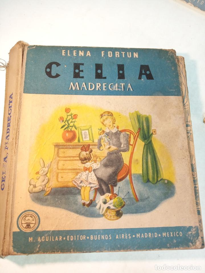Libros antiguos: Lote de 5 cuentos de Los cuentos de Celia. Elena Fortún. Aguilar. Madrid. 1955. - Foto 3 - 189138382