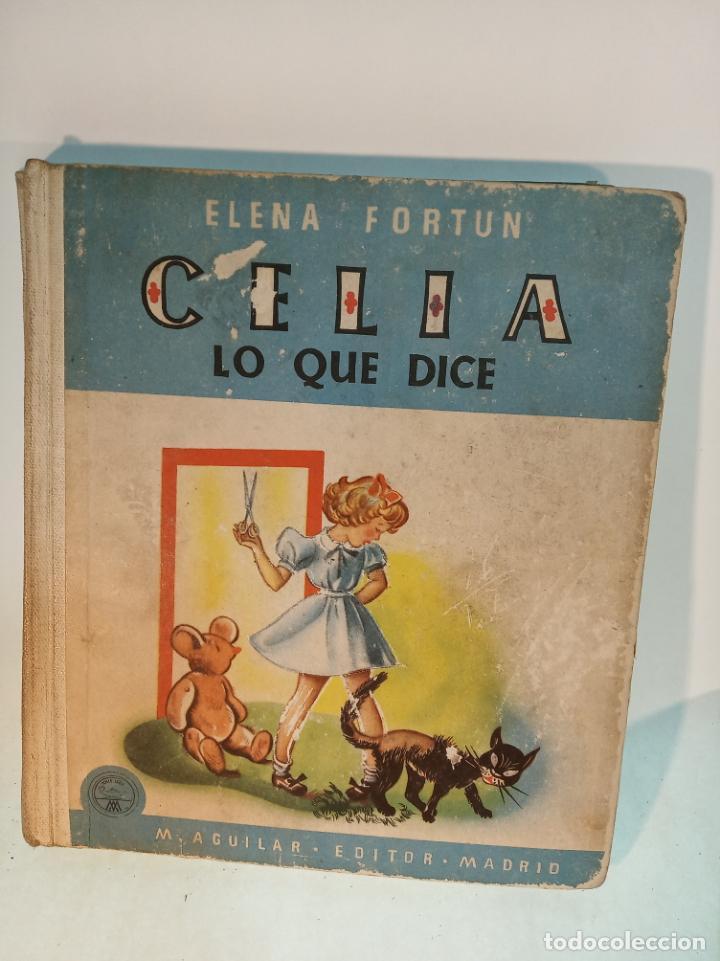 Libros antiguos: Lote de 5 cuentos de Los cuentos de Celia. Elena Fortún. Aguilar. Madrid. 1955. - Foto 4 - 189138382