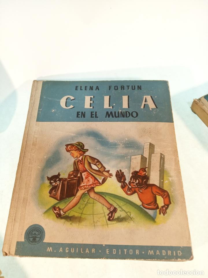 Libros antiguos: Lote de 5 cuentos de Los cuentos de Celia. Elena Fortún. Aguilar. Madrid. 1955. - Foto 5 - 189138382